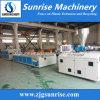 Linha de produção plástica do perfil do PVC WPC da máquina