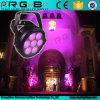 1つの屋外の高い発電LEDの同価に付き専門の段階ライトかみそりP7の同価64 7 LED 25 W Rgbwy 5つ