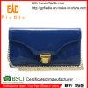 Pochette de luxe personnalisée de cuir de brevet de conception (CWLJW5035-001)