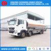Caminhão de petroleiro da gasolina/petróleo/combustível da liga de alumínio 35000L de HOWO 8X4