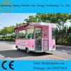 Vrachtwagen van het Voedsel van de Voorwaarde van Dianche van Jiejing kostte zich de Nieuwe het Bewegen rond de Straat