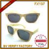 Occhiali da sole Handmade del bambù della natura di alta qualità Fx197
