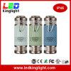 IP45 bewegliche StereoBluetooth Fackel des Lautsprecher-LED