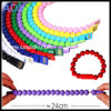 Neues Colorful Beads Bracelet Charger Cable für Samsung