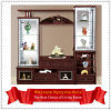 Tevê Cabinet da tevê LCD Cabinet 808# de Promotional Wood do Manufactory de China com Showcase