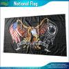 Флаги орла Pow Cmyk Америка экономии полиэфира США 75D (J-NF05F09409)