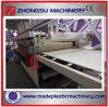 Máquina del estirador de la tarjeta de la espuma de la corteza de la construcción del PVC