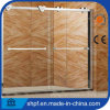 porta do chuveiro do vidro Tempered de 8mm