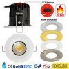 3 fuego cambiable Downlight clasificado de la temperatura de color IP65 Dimmable LED
