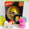 子供のためのペットユニコーンの卵のおもちゃを工夫する育つ5*6cmの新しいマジック