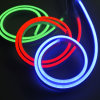 света 50m зеленые/голубые/красные LED/RGB/Warm белые неонового света гибкого трубопровода рождества