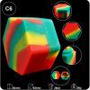 silikon-Behälter-Hersteller des Hexagon-26ml Plastikgummi
