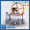 Vávula de bola niquelada a prueba de explosiones de Didtek con bloquear el dispositivo