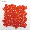 Kreis-deckt rotes Glasmosaik-Blatt natürliches für Küche-Wand Backsplash mit Ziegeln