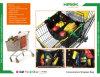 Plegable reutilizable Non-Woven Enfriador de tela Bolsa de carrito de compras