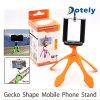 Портативный штатив Gecko гибкая подставка держатель кронштейн для камеры мобильного телефона