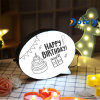 Weihnachtsdekoration-Geschenk-Sprache-Luftblasen-Handschrifts-Meldung LED