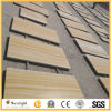 Madera de color amarillo de alta calidad de mosaico de la pared de piedra arenisca Vien