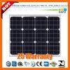 50W 156*156mono-Crystalline Sonnenkollektor