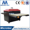 Machine de transfert thermique de station de double de grand format pour de grands T-shirts
