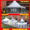 Permanente Duidelijke Hexagon Tent voor Diameter 12m van Mekka Hajj de Gast van Seater van 150 Mensen