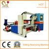 Rollo de PVC automático de la rebobinadora cortadora longitudinal con certificado CE