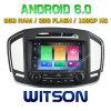 Автомобиль DVD Android 6.0 сердечника Witson 8 на Insignia 2014 Opel