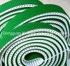 PVC del rivestimento della cinghia di sincronizzazione dell'unità di elaborazione o strato ondulato di gomma