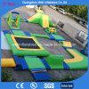 Campo de jogos inflável de flutuação do parque da água da ação