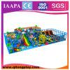 Campo de jogos interno do tema misturado grande com Trampoline (QL-18-10)