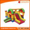 Casal de salto inflável engraçado para crianças com slides (T3-401)
