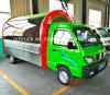 Elektrische Kokende Vrachtwagen, de Mobiele Kar van het Voedsel, de Elektrische Kar van het Voedsel