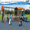 Для использования вне помещений игрушек детская игровая площадка с горками оборудования (HF-20409)