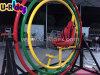 二重円形のスポーツPowerballの娯楽3Dスペースリングの人間のジャイロスコープ