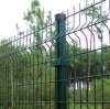 Vinlyは装飾的な溶接された庭の塀のパネルに塗った