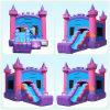 Раздувная оживлённая скача игрушка замока для малышей скачет