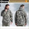 Camping en plein air d'hiver militaire de la randonnée pédestre en polaire étanche Hoodie veste tactique