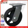 4 industrielle Roheisen-Rad-Hochleistungsfußrollen des Schwenker- X2