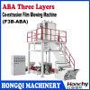 ABA Lijn van de Machine van de Film van Drie Laag de Co-extrusie Geblazen