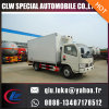2016 La última Euro 3/4 Emisión Standard Refrigerador Camión 4X2 Forland / Dongfeng Refrigerador Camión con transmisión manual para la venta