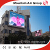 Pared al aire libre de Mountaion a-Li P6 SMD LED TV