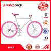 최신 판매 700c 다채로운 Fixie 조정 기어 자전거 단 하나 속도 다채로운 조정 기어는 세륨 자유로운 세금을%s 가진 판매를 위해 싸게 자전거를 탄다