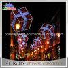2D Réverbère de Noël de lumière de motif de Pôle de décoration de DEL extérieur