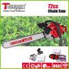 Teammax 72cc professionnel de haute qualité de l'essence avec l'Oregon la chaîne de scie à chaîne