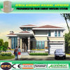 Escuela prefabricada de la casa prefabricada del edificio de la estructura de acero de la alta subida del bajo costo