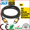 4096p * 2160p LCD TV Orange Gold Cabo HDMI para xBox PS4 (SY120)