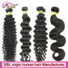 ブラジルのバージンの人間の毛髪の異なったタイプの巻き毛の織り方の毛