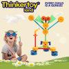 Blocs éducatifs en plastique de jeu de casse-tête de jouet de DIY