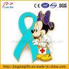 Insigne en gros fait sur commande de Mickey en métal de mode de la promotion 2016, insigne de Pin