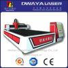 Dwy le type ouvert machine de découpage de fibre optique de laser